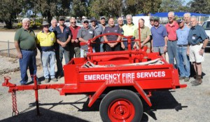 The Tatiara Men's Shed has helped restore a piece of volunteer fire service history.